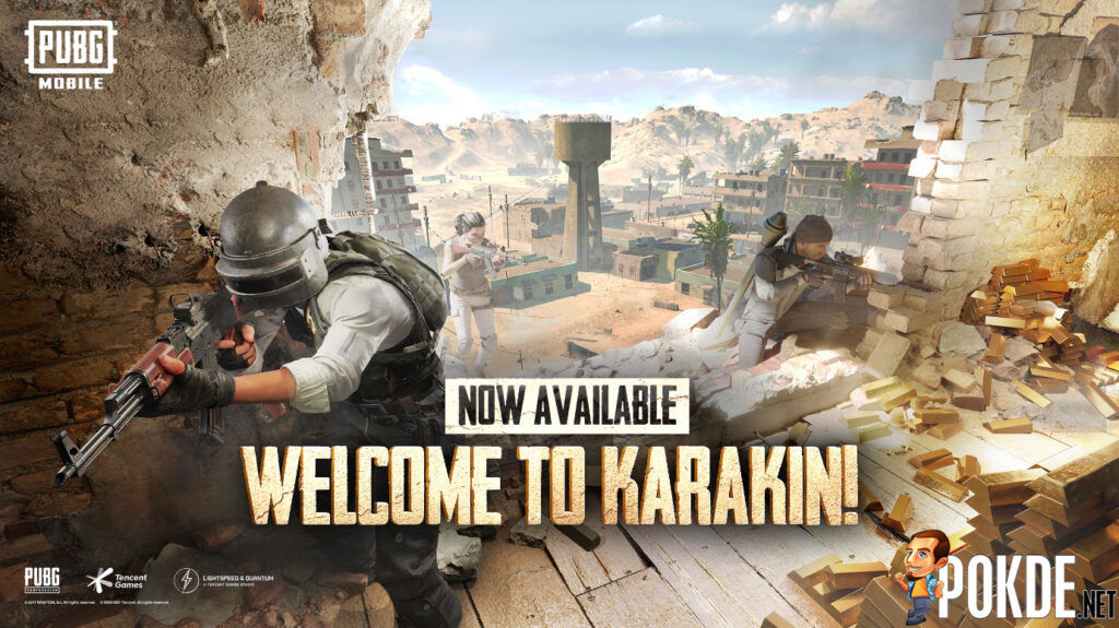 New Karakin Map Is Now Available In PUBG MOBILE 18