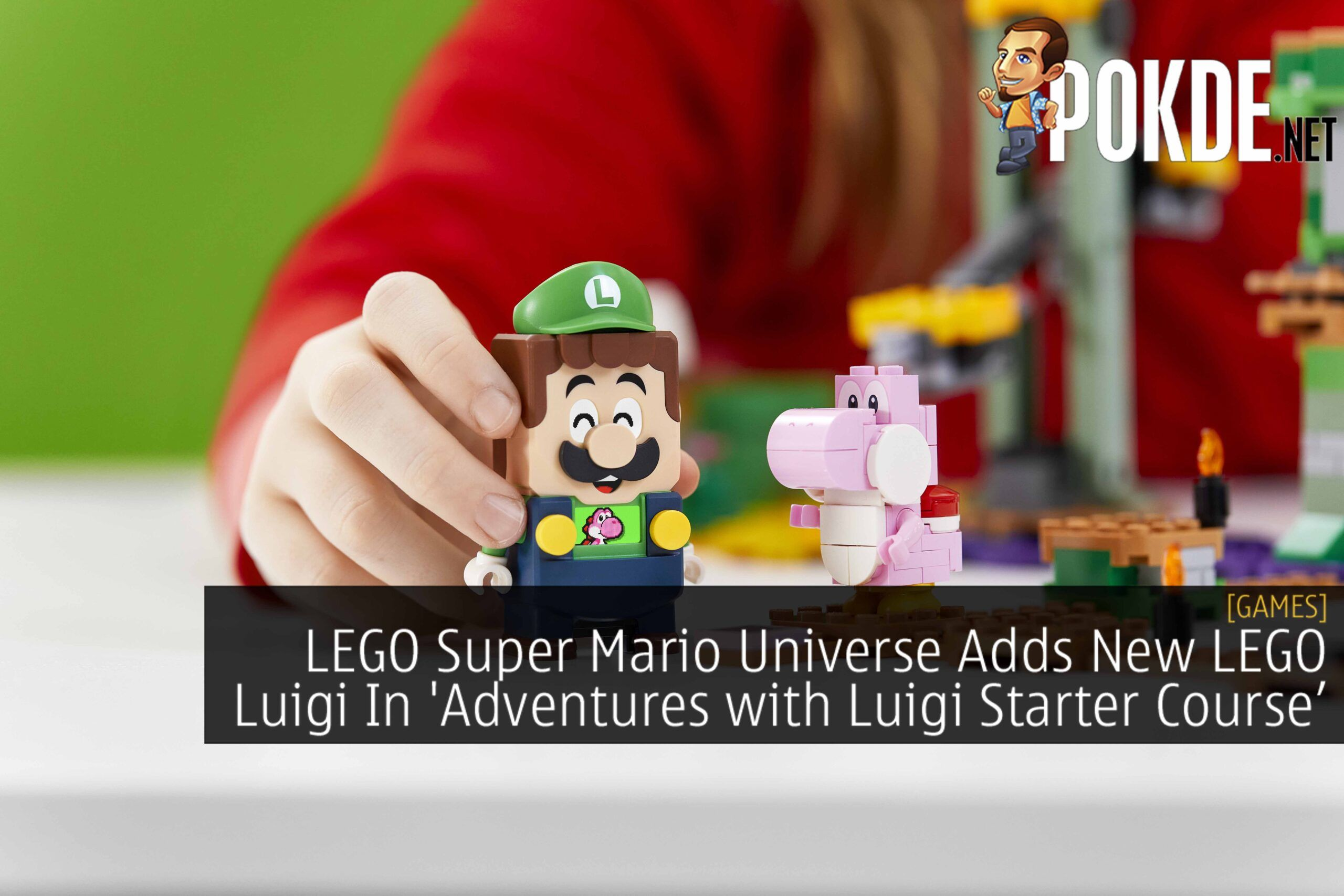 LEGO Luigi LEGO Super Mario Adventures with Luigi Starter Course cover