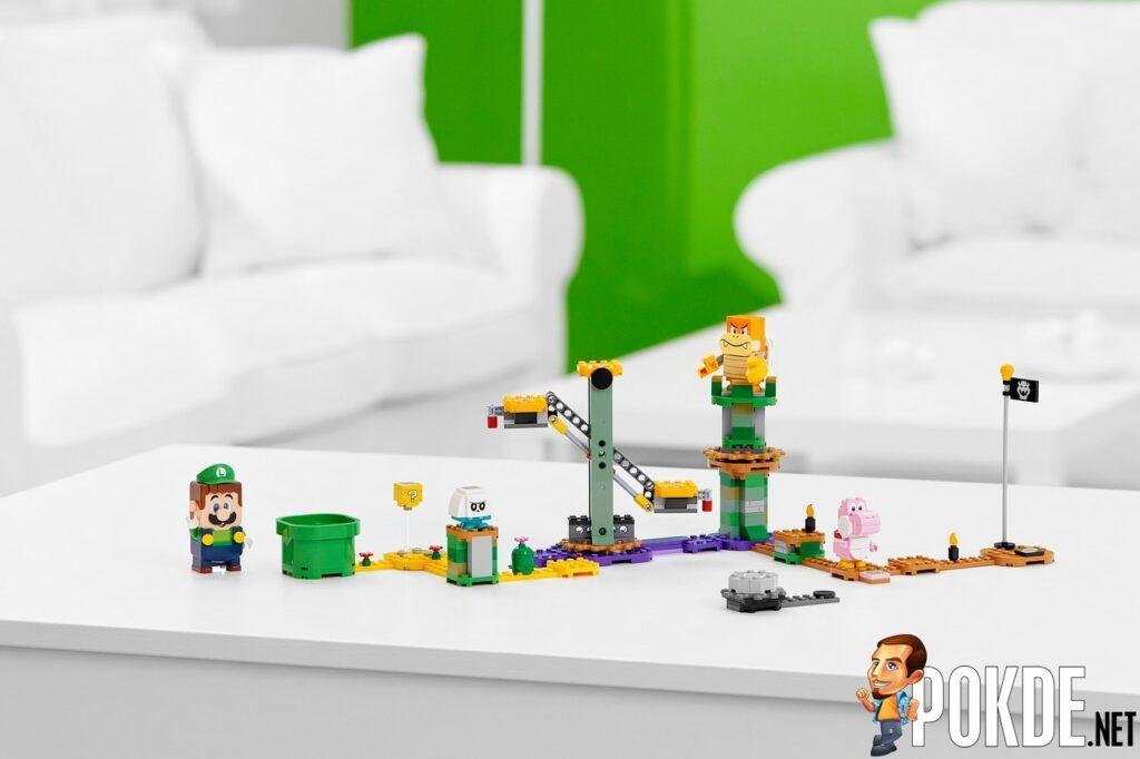 LEGO Super Mario Universe Adds New LEGO Luigi In 'Adventures with Luigi Starter Course' 19