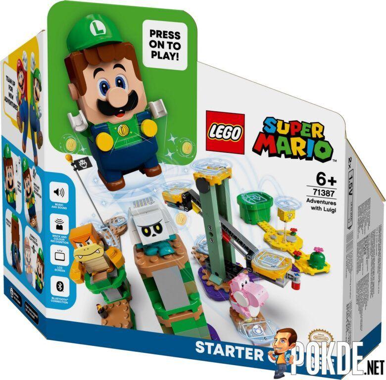 LEGO Super Mario Universe Adds New LEGO Luigi In 'Adventures with Luigi Starter Course' 21