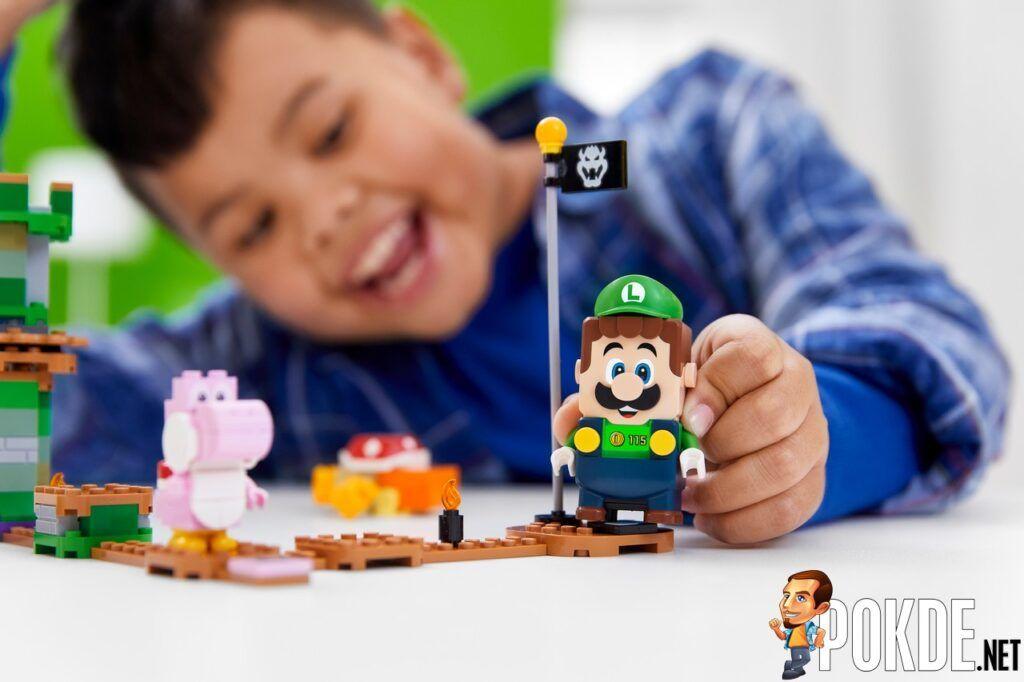 LEGO Super Mario Universe Adds New LEGO Luigi In 'Adventures with Luigi Starter Course' 20