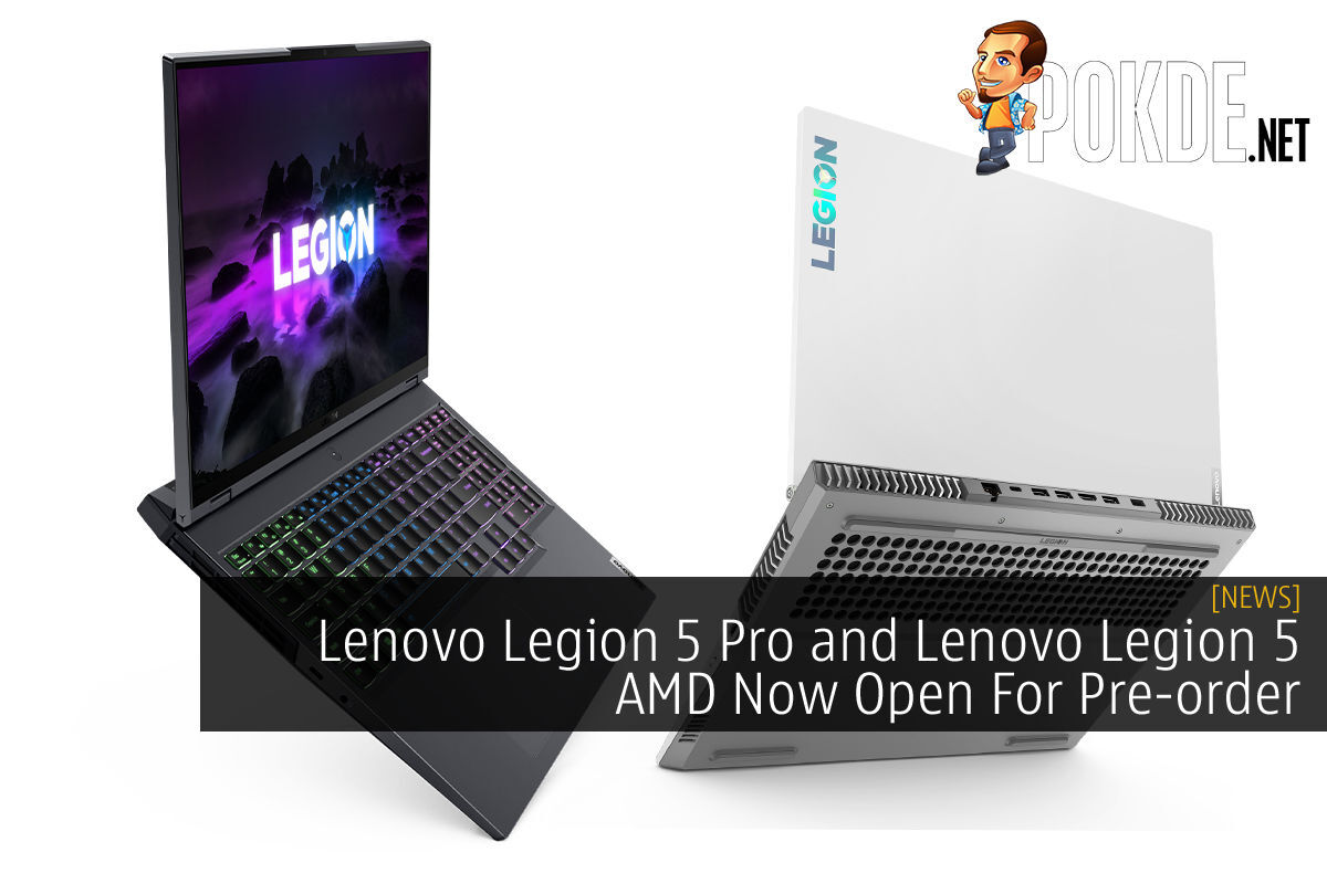 Lenovo Legion 5 Pro and Lenovo Legion 5 AMD cover