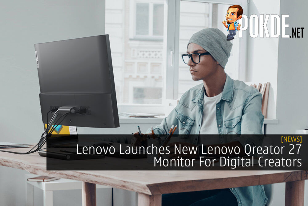 Lenovo Qreator 27 Monitor cover
