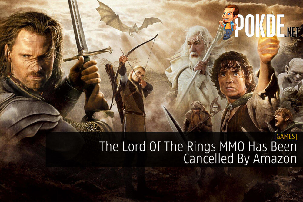 Lord of the RIngs MMO Cancelled By Amazon cover