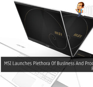 MSI Launches Plethora Of Business And Productivity Products 24