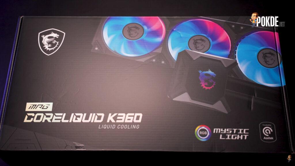 MSI MPG CoreLiquid K360 Unboxing