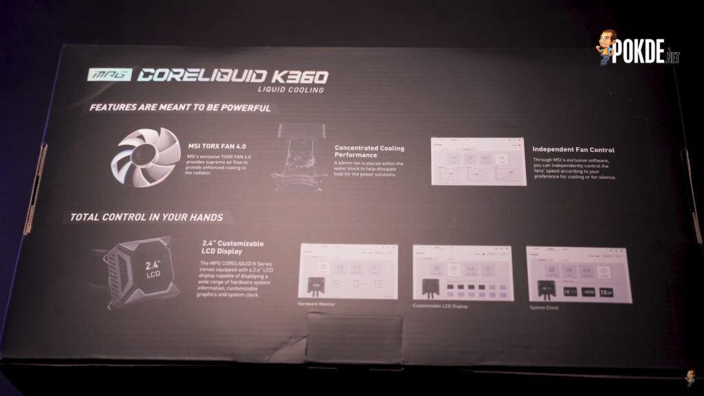 MSI MPG CoreLiquid K360 Unboxing 2