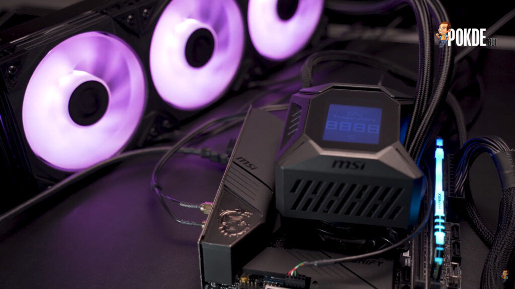 MSI MPG CoreLiquid K360 Review - Bigger, Cooler, Sexier 40