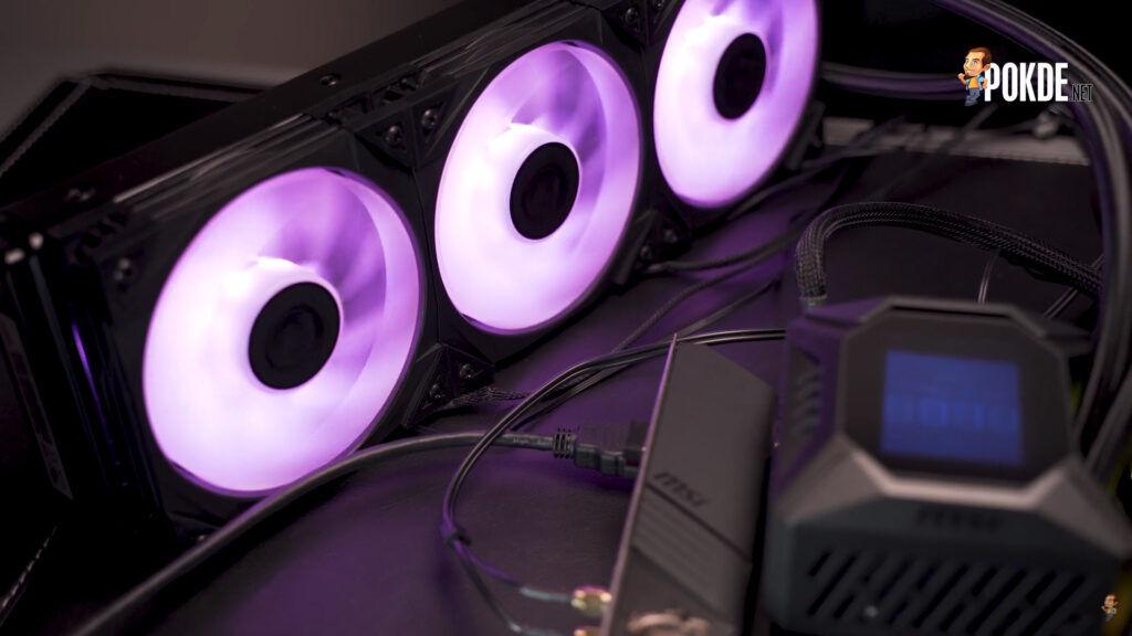 MSI MPG CoreLiquid K360 Review - Bigger, Cooler, Sexier 31