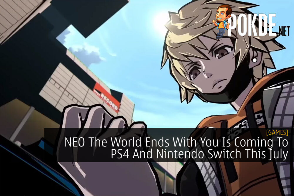 NEO The World Ends with You cover