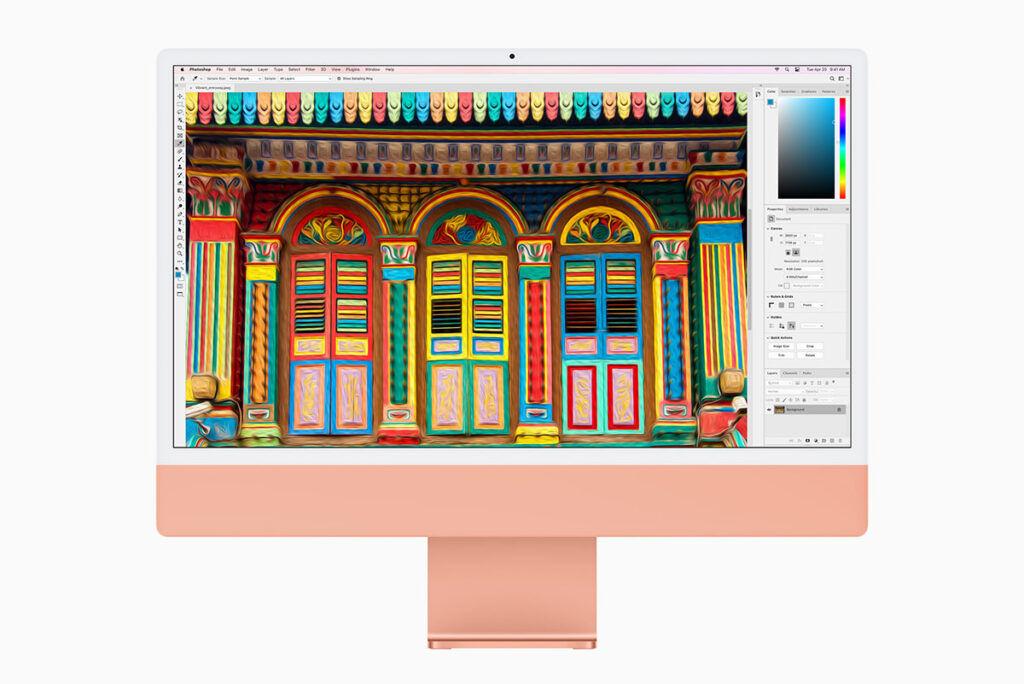 New iMac 2021 screen