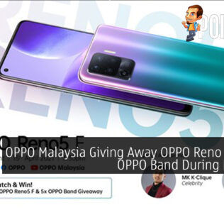 OPPO Malaysia Giving Away OPPO Reno 5F And OPPO Band During Launch 25