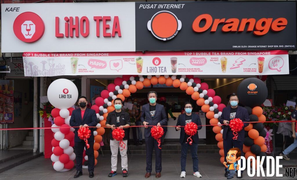 Orange Esports Cafe Partners With LiHO TEA To Launch First Esports And Lifestyle Cafe 18