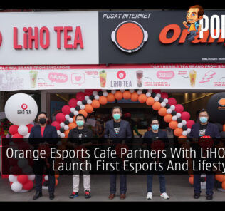 Orange Esports Cafe x LiHO Tea cover