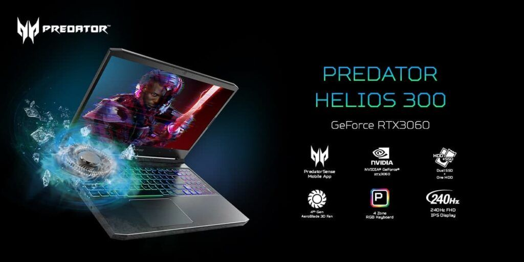 Acer Predator Helios 300 and Acer Nitro 5 Refresh Launched in Malaysia