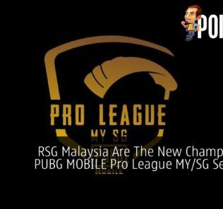 RSG Malaysia Champions Of PUBG MOBILE Pro League MYSG Season 3