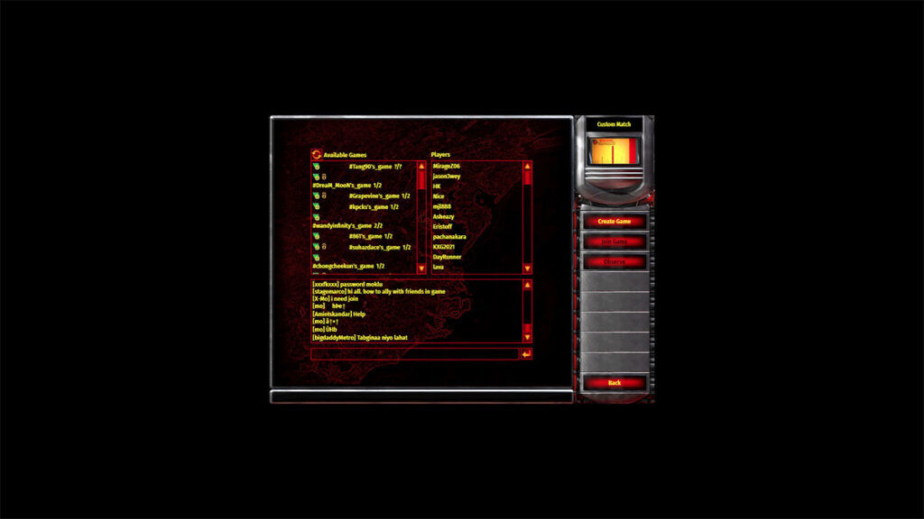 Red Alert 2 chrono divide players