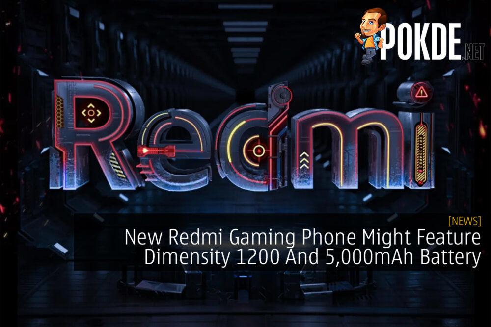 Redmi Gaming Phone cover