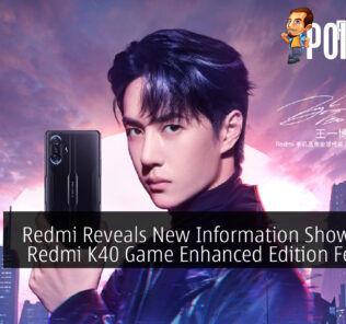 Redmi Reveals New Information Showcasing Redmi K40 Game Enhanced Edition Features 22