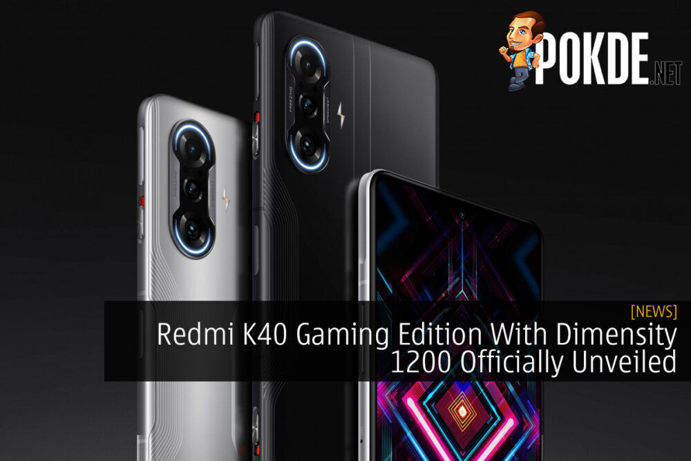 Redmi K40 Gaming Edition With Dimensity 1200 Officially Unveiled 19