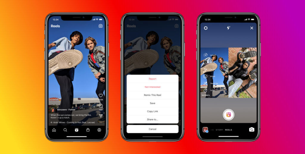 Instagram Remix Is Their Answer To Fight Against TikTok Duet