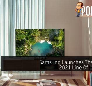 Samsung 2021 UHD TVs cover