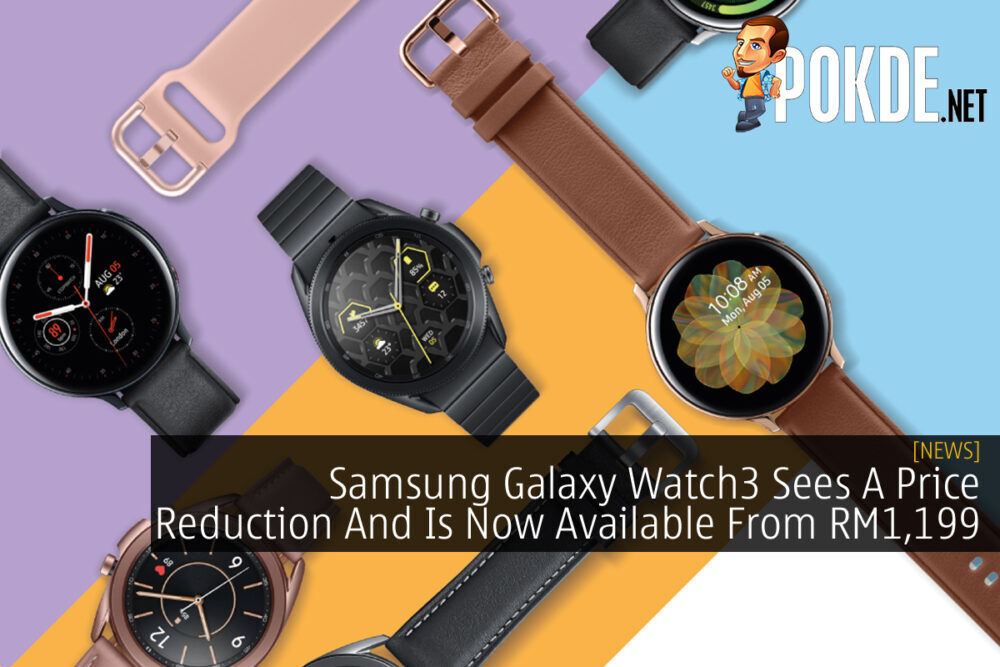 Samsung Galaxy Watch3 Price Cut