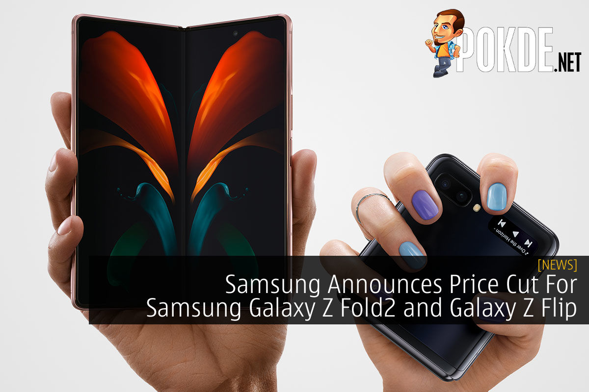 Samsung Galaxy Z Fold2 and Samsung Galaxy Z FLip Price Cut cover
