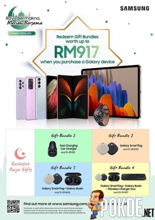 Win RM1,000 Touch N Go eWallet Credits With Samsung's 'Raya Bermakna, Meriah Bersama' Promo 20