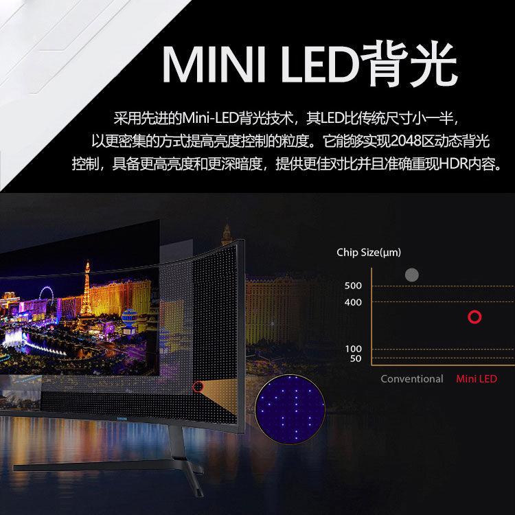 Samsung Odyssey G9 2021 mini LED 2048 zone