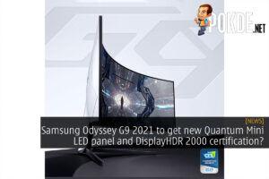 Samsung Odyssey G9 2021 refresh cover