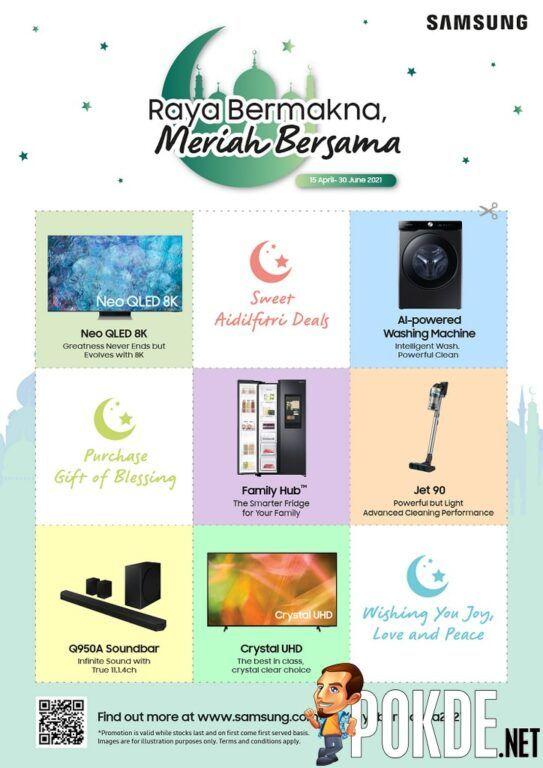 Win RM1,000 Touch N Go eWallet Credits With Samsung's 'Raya Bermakna, Meriah Bersama' Promo 19