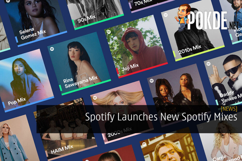 Spotify Launches New Spotify Mixes 24
