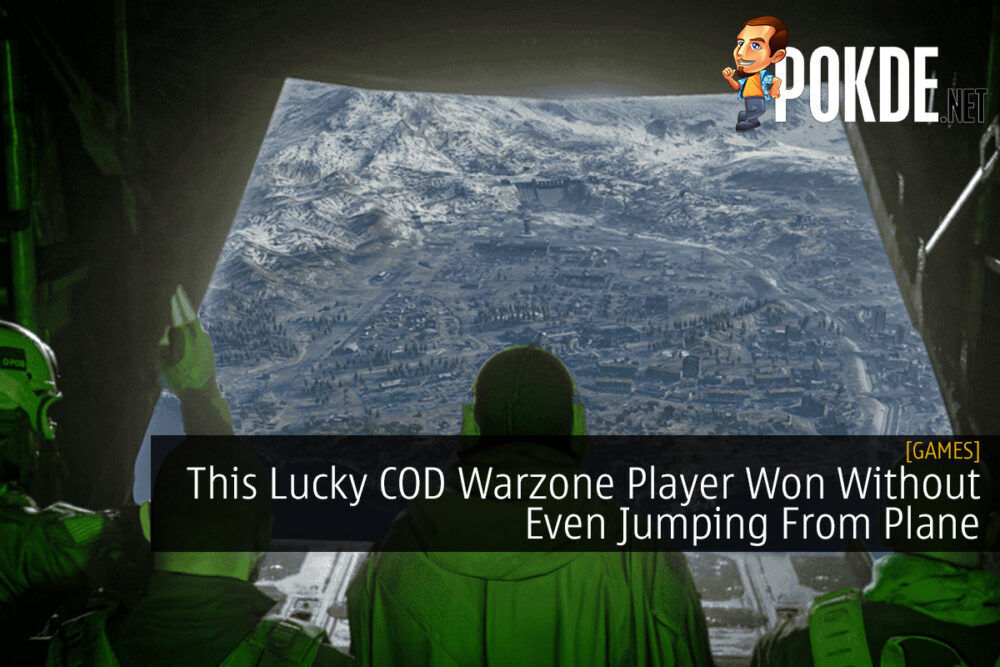 This Lucky COD Warzone Player Won Without Even Jumping From Plane 19