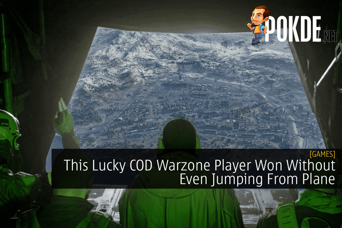 This Lucky COD Warzone Player Won Without Even Jumping From Plane 11