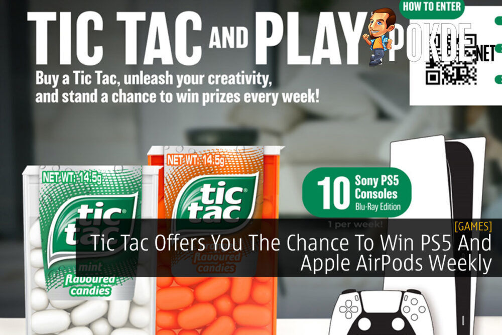 Tic Tac Offers You The Chance To Win PS5 And Apple AirPods Weekly 19