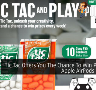 Tic Tac Offers You The Chance To Win PS5 And Apple AirPods Weekly 25