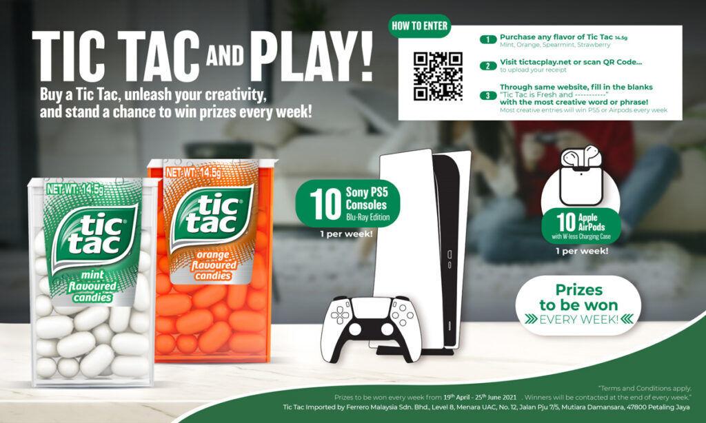 Tic Tac Play Malaysia