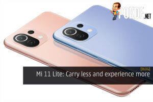 Xiaomi Mi 11 Lite carry less experience more cover