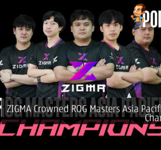 ZIGMA Crowned ROG Masters Asia Pacific 2021 Champions 20