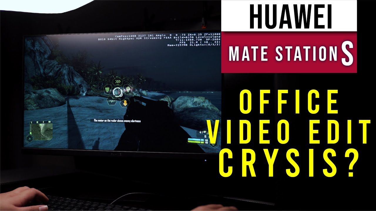 Huawei Mate Station S Review - Microsoft Office, Premiere Pro, Crysis? 13