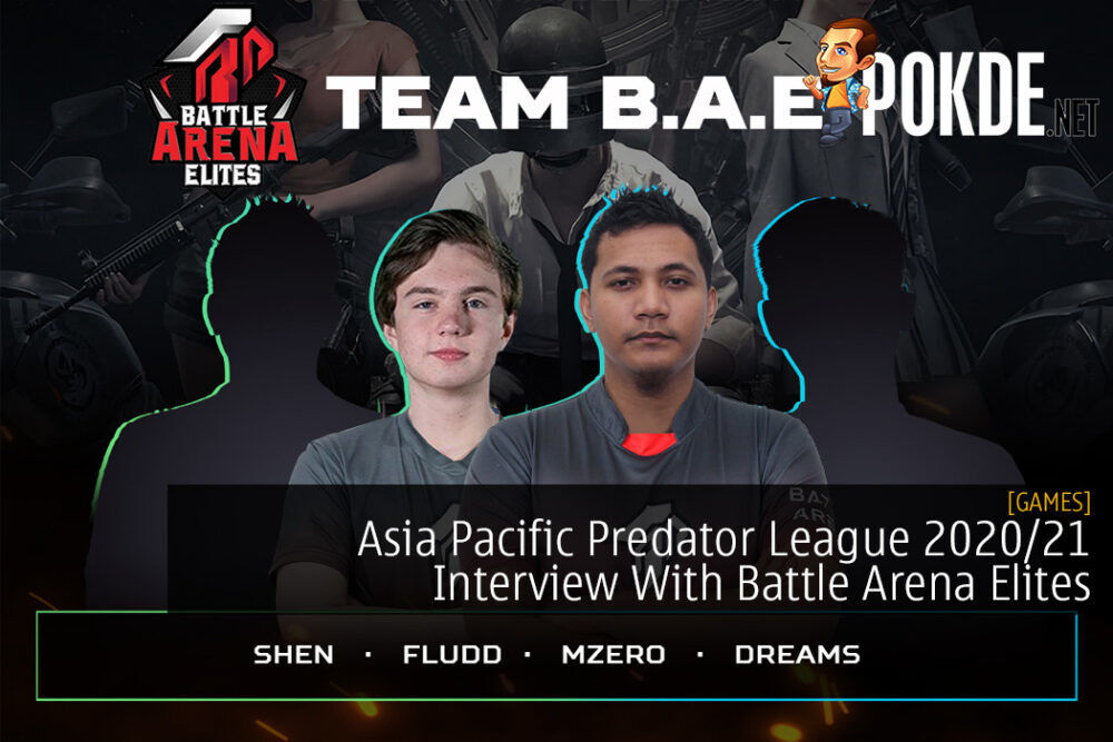 Asia Pacific Predator League 2020/21 Interview With Battle Arena Elites 24