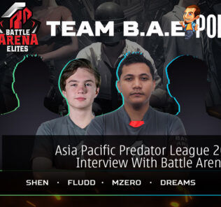 Asia Pacific Predator League 2020/21 Interview With Battle Arena Elites 19