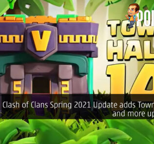clash of clans spring 2021 update town hall 14 cover