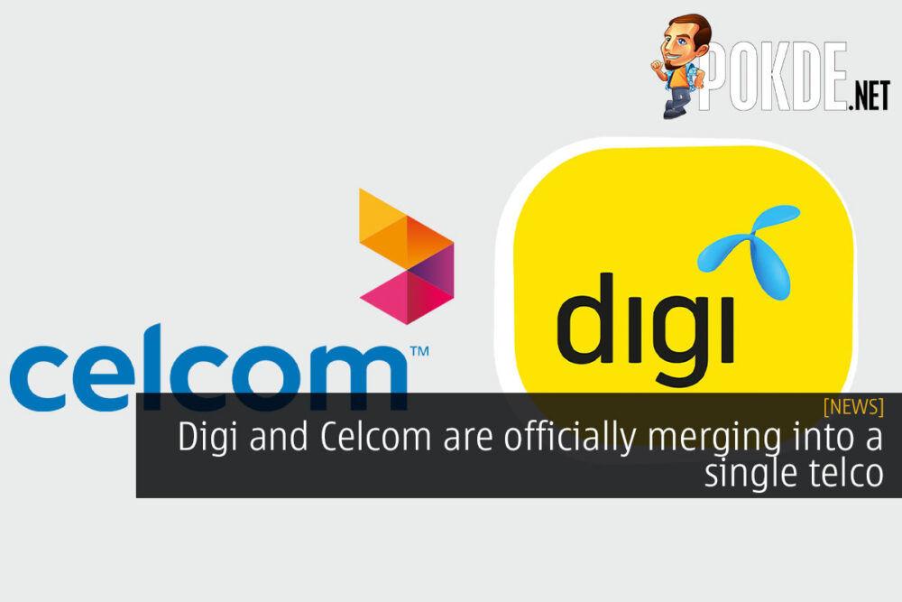 digi celcom merging into single telco cover