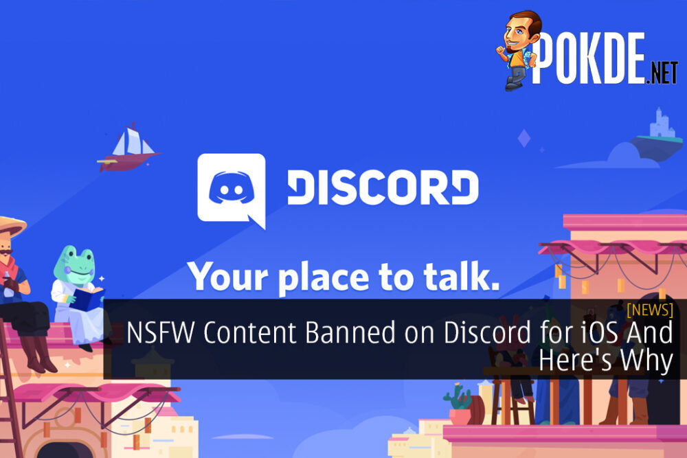 NSFW Content Banned on Discord for iOS And Here's Why
