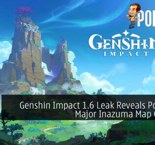 Genshin Impact 1.6 Leak Reveals Potential Major Inazuma Map Change