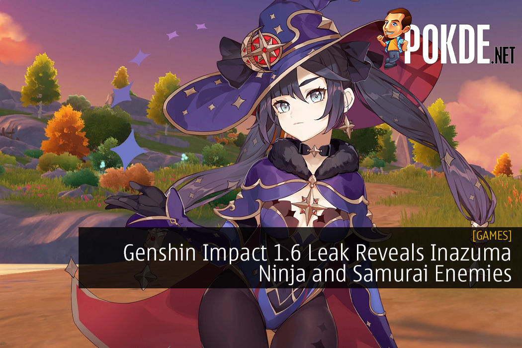 Genshin Impact 1.6 Leak Reveals Inazuma Ninja and Samurai Enemies