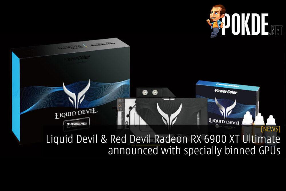 liquid devil and red devil radeon rx 6900 xt ultimate bin cover