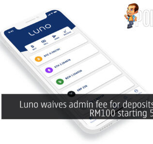 luno waive deposit fee cover